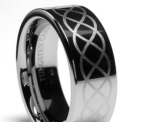 Tungsten Camo Wedding Rings