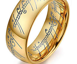 Gold Nugget Wedding Band 60 Perfect  tungstenfashions Lord of