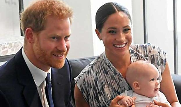 Prince Harry and Meghan Markle's Son Archie Makes His Official Royal Tour Debut